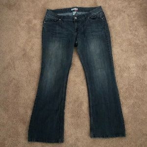 Dark Wash Jeans - Route 66